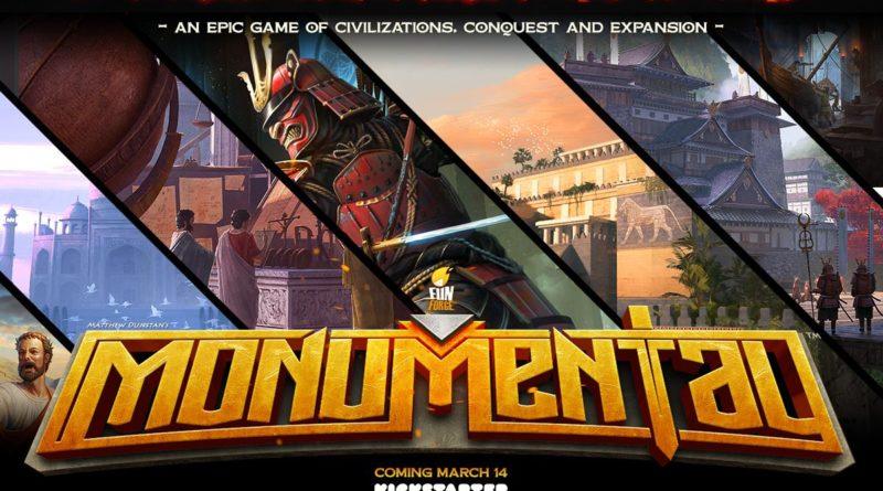 Monumental boardgame spot