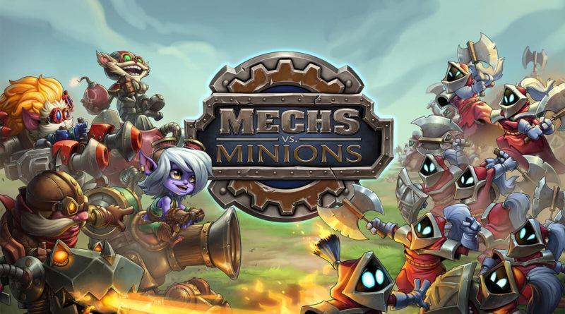 mech vs minions
