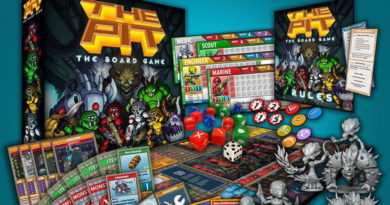 The PIT Board game meniac head