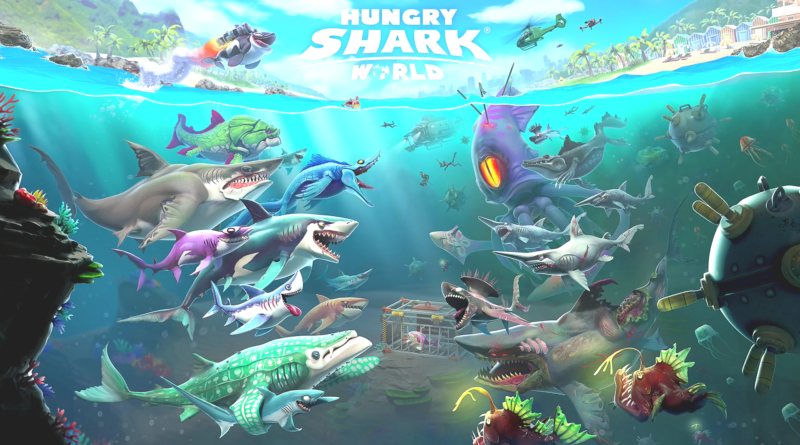 Hungry shark world meniac