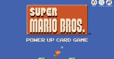 Super Mario Bros. Power Up Card Game meniac