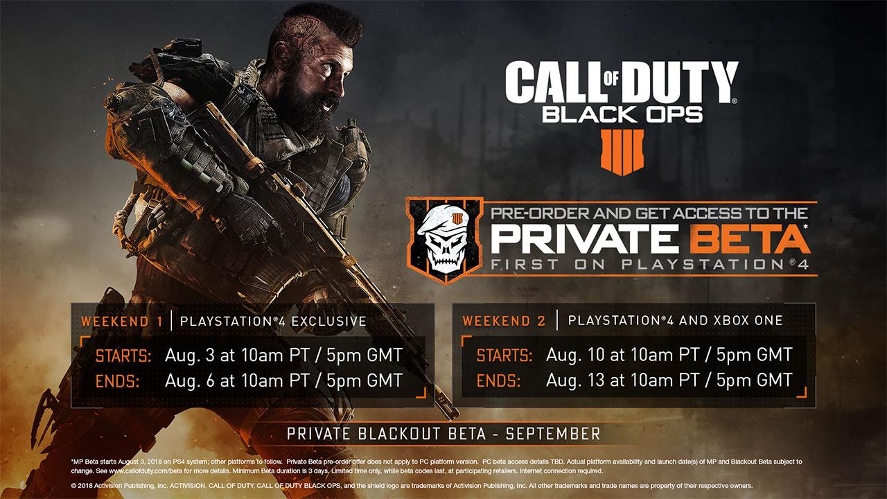 Risultati immagini per call of duty black ops 4 beta