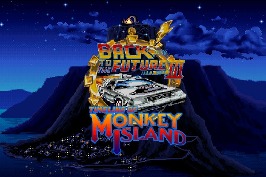 back to the future timeline of monkey island meniac