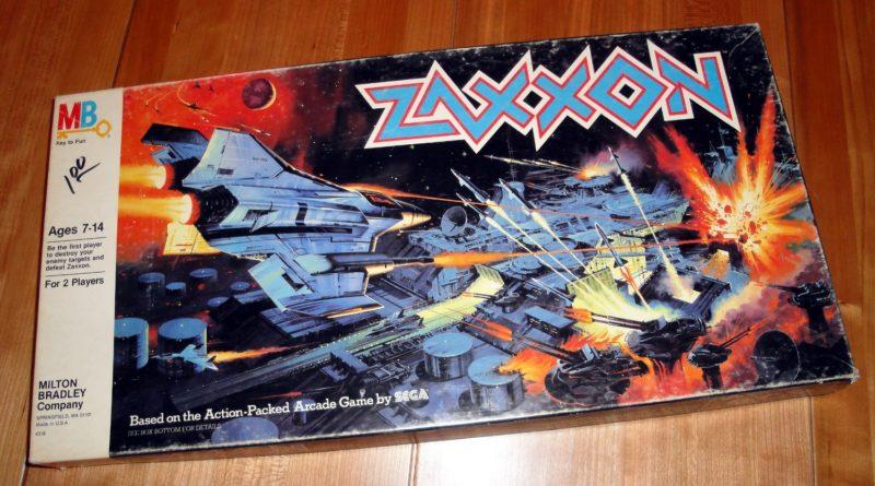 Zaxxon box uk