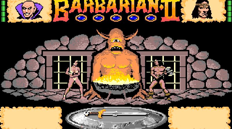 Barbarian II msdos