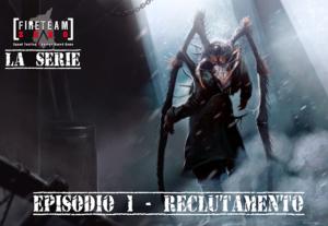 Fireteam Zero La serie Copertina Episodio 01