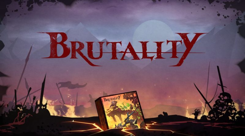 Brutality boardgame