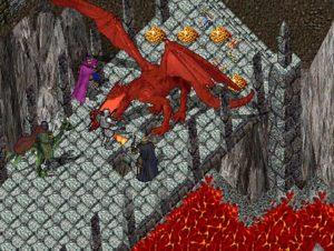 Ultima Online dragon