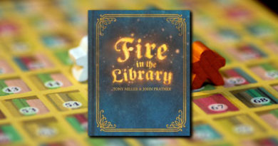 Fire in the library