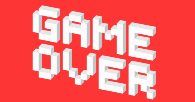 Game Over pixel