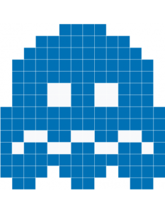 Sad pacman ghost