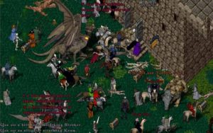 Ultima Online plaza
