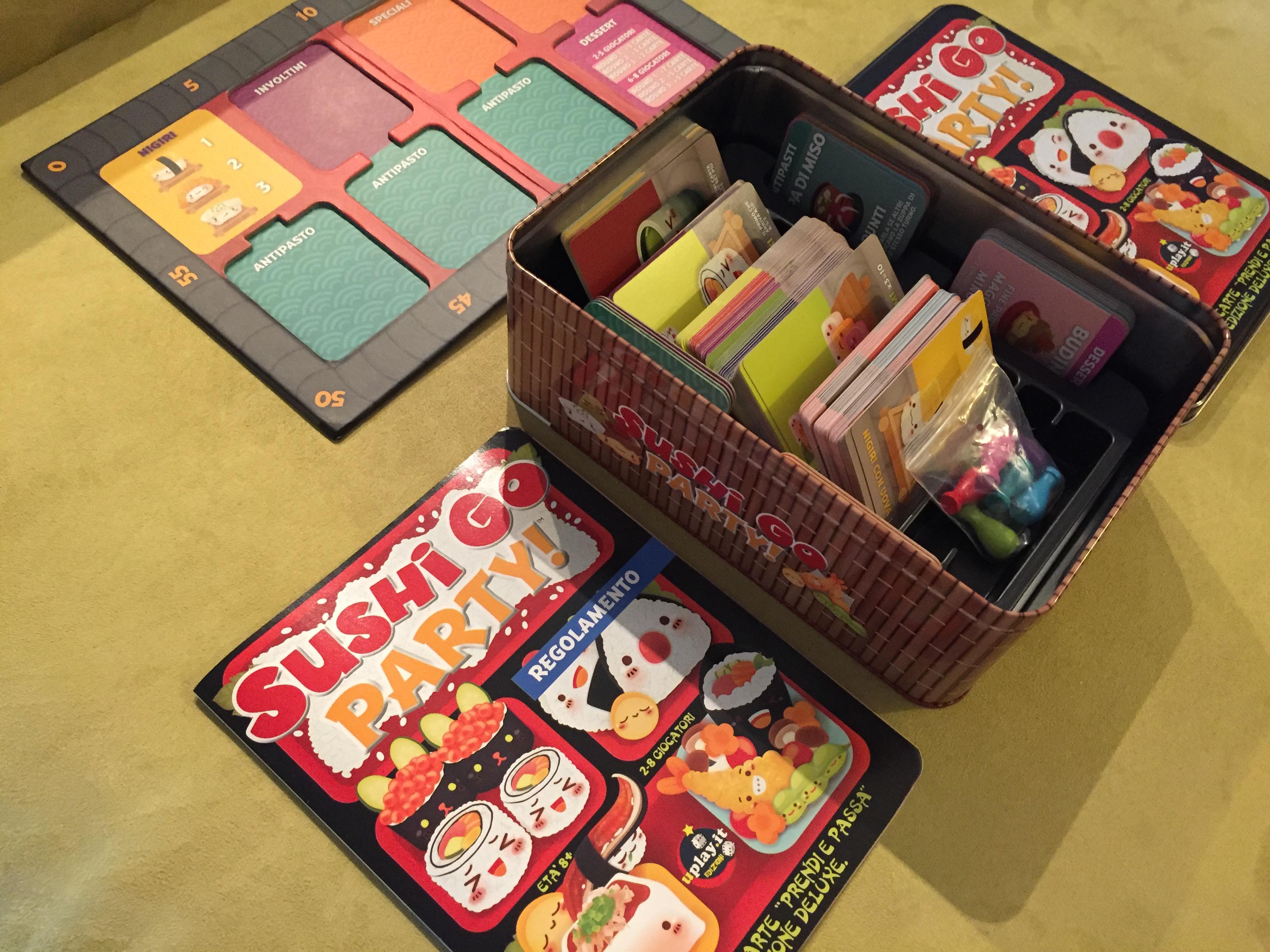 Sushi Go Party Game-Sigillato Nuovo di Zecca /&