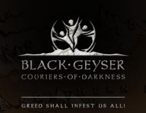 black geyser