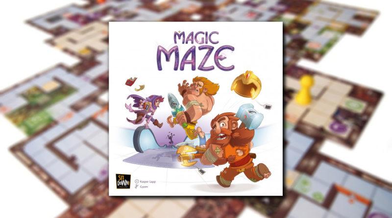magic maze meniac
