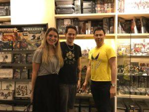 Catherine Tessier interview wardens game
