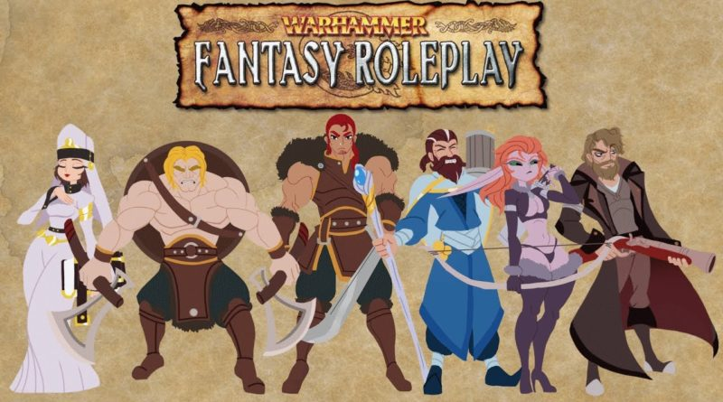 Warhammer Fantasy Role Play 4yh edition