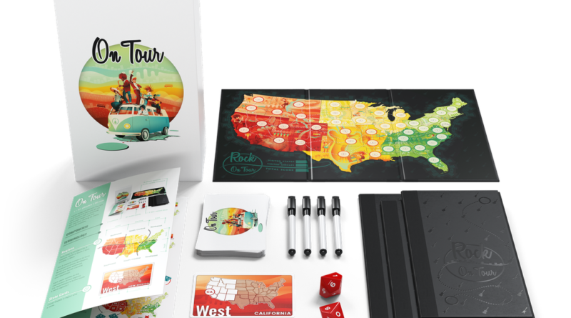 on tour boardgame