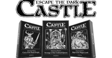 Escape the dark castle new kickstarter meniac