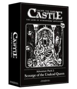 Escape the dark castle new kickstarter meniac