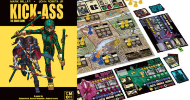 kick-ass boardgame meniac