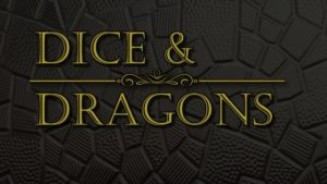 dice and dragons Fantasy role playing dice game meniac