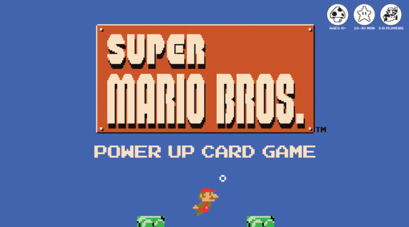 Super Mario Bros. Power Up Card Game meniac