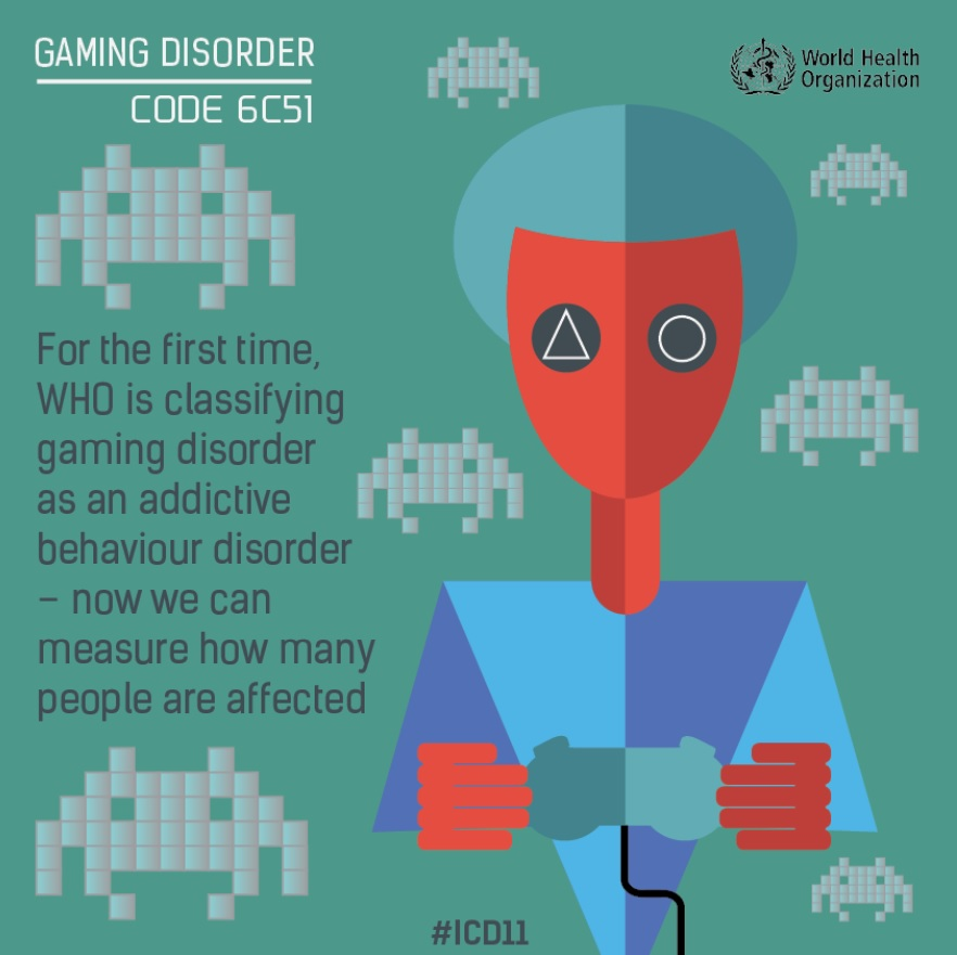 gaming disorder meniac