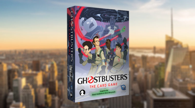 ghostbusters the card game meniac