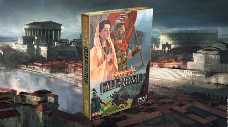 pandemic fall of rome meniac