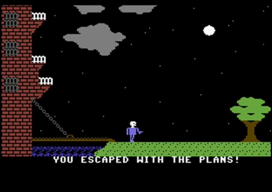 Castle Wolfenstein c64 meniac