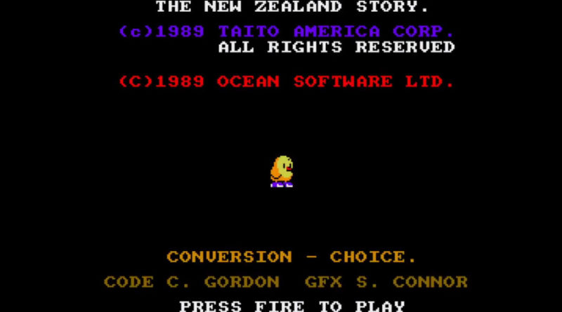 The NewZealand Story meniac