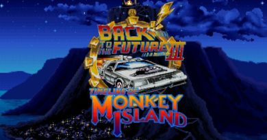 back to the future timeline of monkey island meniac