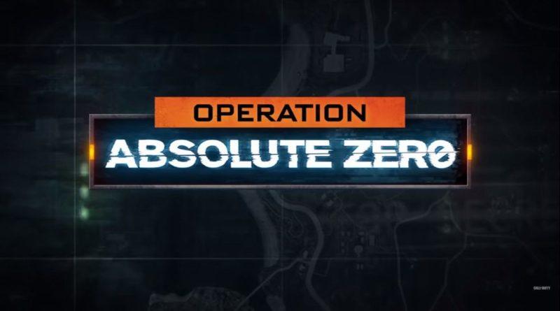call of duty bo 4 operazione zero assoluto meniac