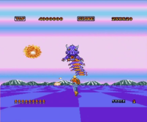 space harrier meniac