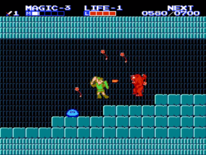 zelda II the adventure of link meniac