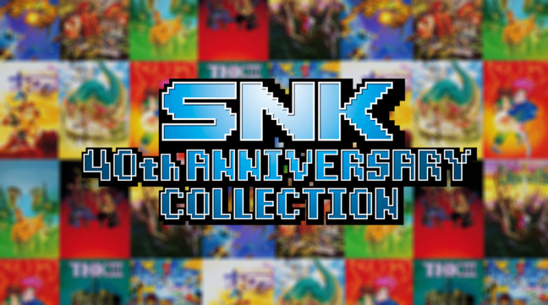 snk 40th anniversary collection meniac