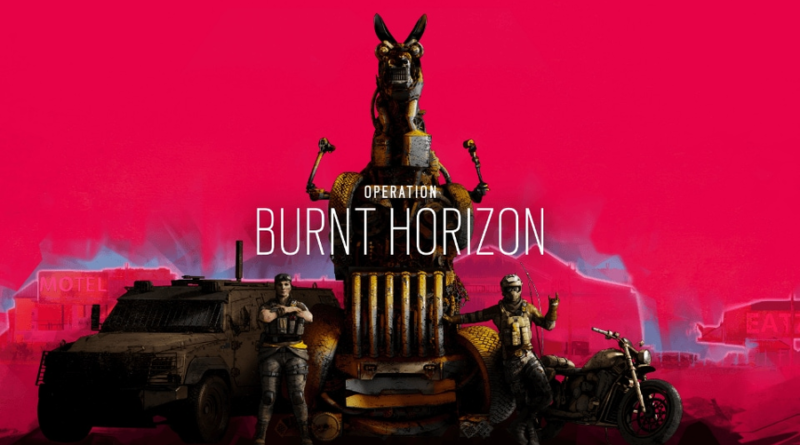 Tom Clancy's Rainbow Six Siege burnt horizon meniac