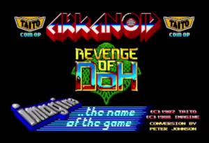 arkanoid revenge of doh meniac