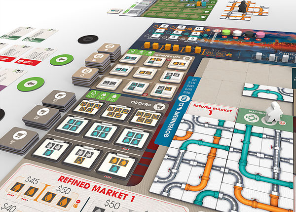 pipeline boardgame meniac
