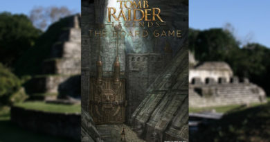 tomb raider legends board game meniac