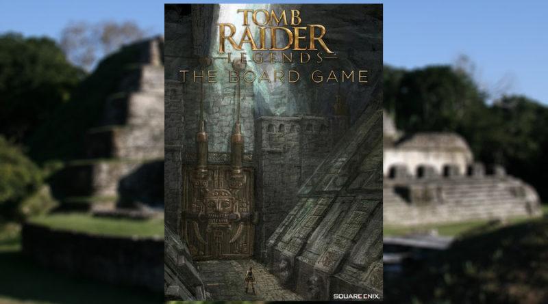 tomb raider legends board game meniac
