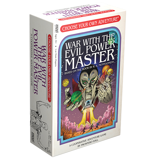 choose your own adventure war with the evil power master meniac news master meniac