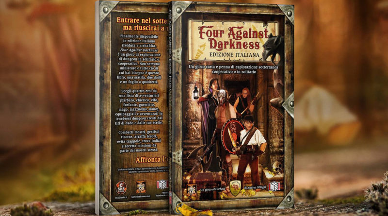 Four Against Darkness ms edizioni meniac
