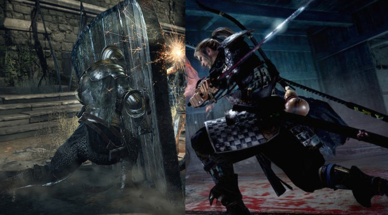 dark souls vs nioh meniac