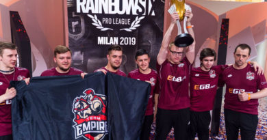team empire rainbow six siege pro league finale milano meniac