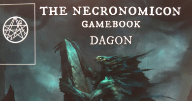 the necronomicon gamebook dagon meniac recensione cover