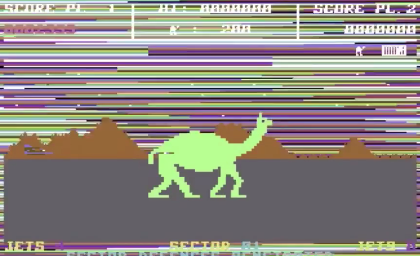 attack of the mutant camels meniac review
