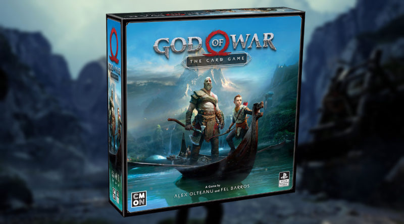 god of war the card game cmon meniac news