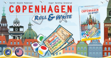 Copenhagen Roll & Write meniac news